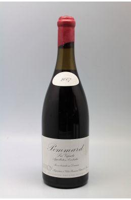 Domaine Leroy Pommard Les Vignots 2007 -5% DISCOUNT !