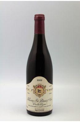 Hubert Lignier Morey Saint Denis 1er cru Vieilles Vignes 2002