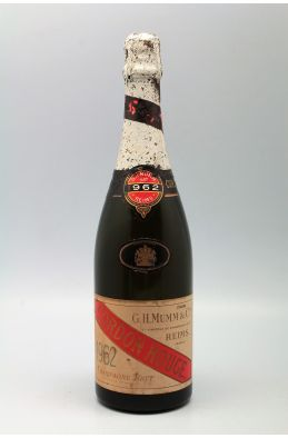 Mumm Cordon Rouge 1962