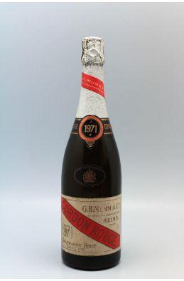 Mumm Cordon Rouge 1971