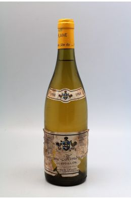Puli Clavoillon 1988 Leflaive -10% DISCOUNT !