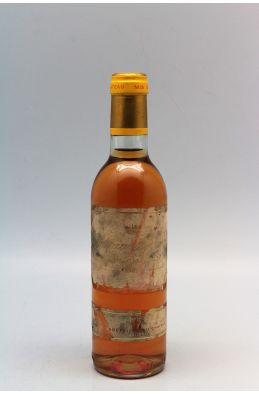 Yquem 1981 37,5cl -10% DISCOUNT !