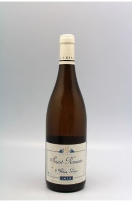 Alain Gras Saint Romain 2018 Blanc