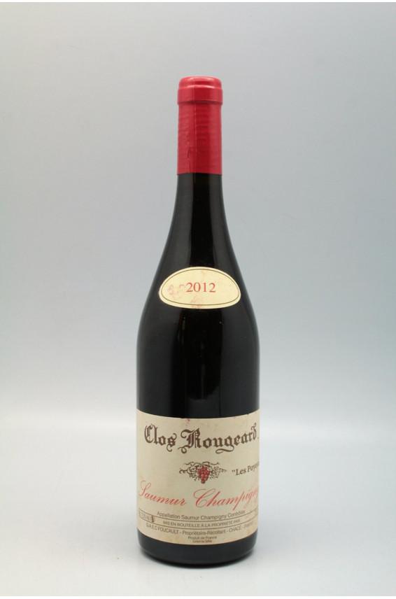 Clos Rougeard Saumur Champigny Les Poyeux 2012