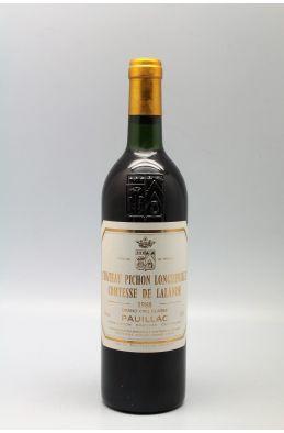 Pichon Longueville Comtesse de Lalande 1988