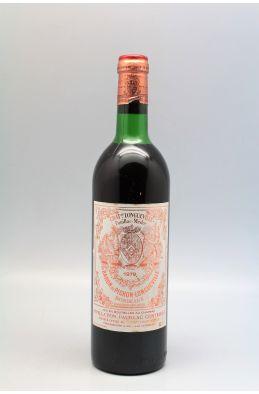 Pichon Longueville Baron 1979 - PROMO -10% !
