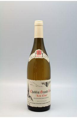 Vincent Dauvissat Chablis Grand cru Les Clos 2012