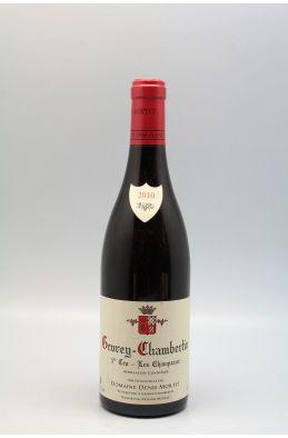 Denis Mortet Gevrey Chambertin 1er cru Les Champeaux 2010