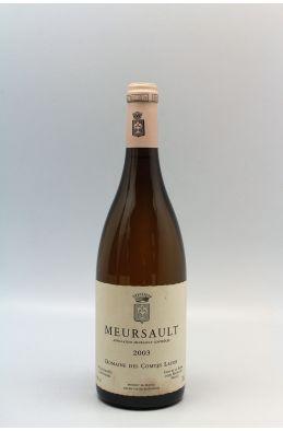 Comtes Lafon Meursault 2003