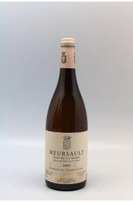 Comtes Lafon Meursault Clos de la Barre 2005