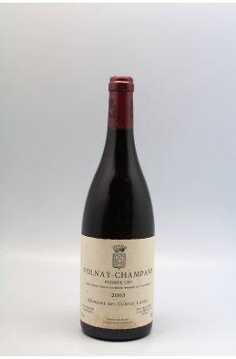 Comtes Lafon Volnay 1er cru Champans 2003