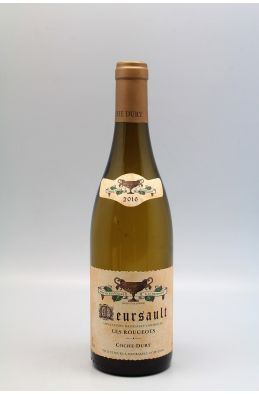 Coche Dury Meursault Rougeots 2016