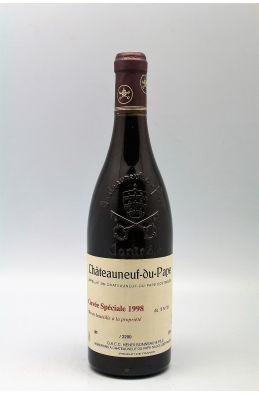 Henri Bonneau Châteauneuf du Pape Cuvée Spéciale 1998