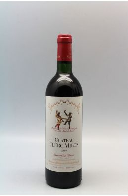 Clerc Milon 1990