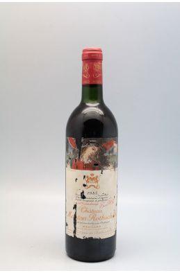 Mouton Rothschild 1985 -10% DISCOUNT !