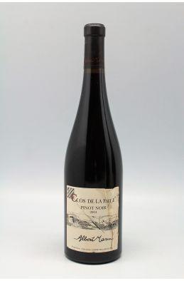 Albert Mann Alsace Pinot Noir La Faille 2004 - PROMO -5% !
