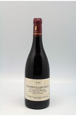 Hervé Sigaut Chambolle Musigny 1er cru Les Sentiers Vieilles Vignes 2000
