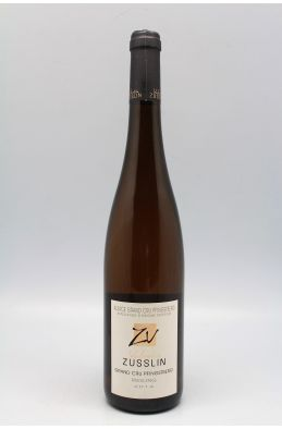 Zusslin Alsace Grand cru Riesling Pfingstberg 2014