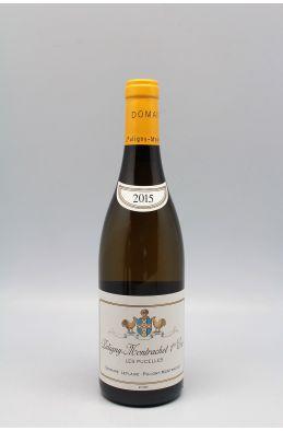 Domaine Leflaive Puligny Montrachet 1er cru Les Pucelles 2015