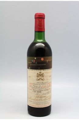 Mouton Rothschild 1971 -10% DISCOUNT !