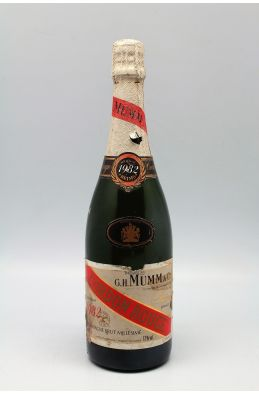 Mumm Cordon Rouge 1982