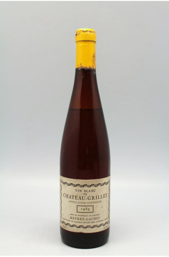Château Grillet 1986 - PROMO -15% !
