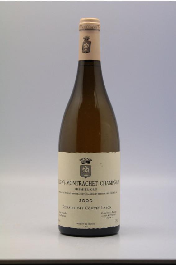 Comtes Lafon Puligny Montrachet 1er cru Champs Gains 2000