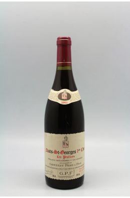 Grivelet Nuits Saint Georges 1er cru Les Pruliers 1991