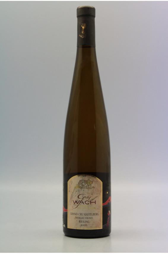 Guy Wach Riesling Grand Cru Kastelberg Vieilles Vignes 2005