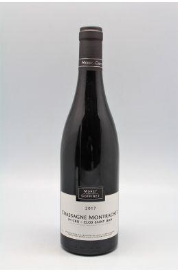 Morey Coffinet Chassagne Montrachet 1er cru Clos Saint Jean 2017 rouge