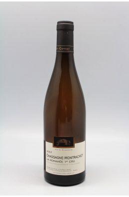Morey Coffinet Chassagne Montrachet 1er cru La Romanée 2007