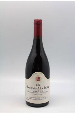Groffier Chambertin Clos de Bèze 2005