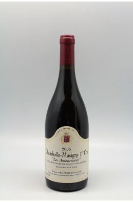 Groffier Chambolle Musigny 1er cru Les Amoureuses 2005