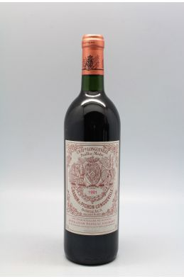 Pichon Longueville Baron 1991