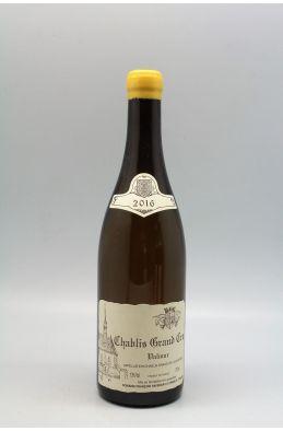 Raveneau Chablis Grand cru Valmur 2016
