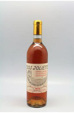 Clos Joliette Jurançon Sec 1970