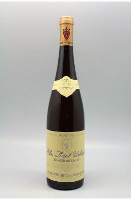 Zind Humbrecht Alsace Grand cru Gewurztraminer Rangen de Thann Clos Saint Urbain 2007