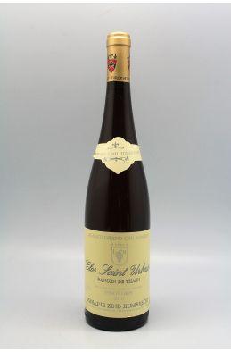 Zind Humbrecht Alsace Grand cru Pinot Gris Rangen de Thann Clos Saint Urbain 2010