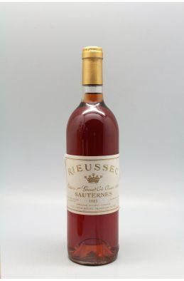 Rieussec 1983