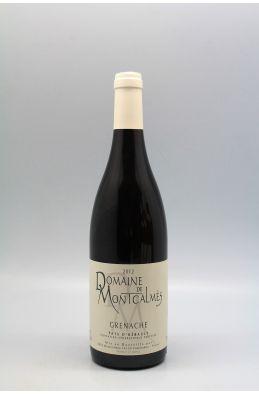 Montcalmès Vin de France Grenache 2012