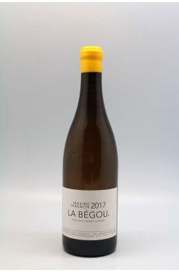 Maxime Magnon Corbières La Bégou 2017 blanc