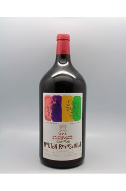 Mouton Rothschild 2001 Double Magnum