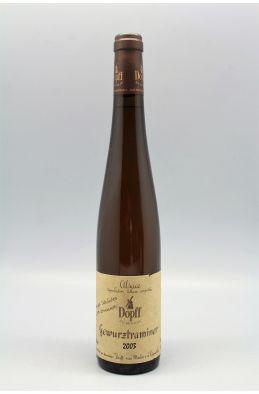 Dopff Alsace Gewurztraminer Vendanges Tardives de nos Domaines 2003 50cl