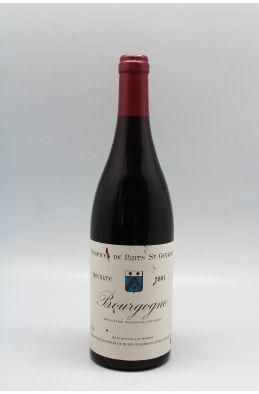 Hospices de Nuits Bourgogne 2001 rouge