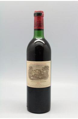 Lafite Rothschild 1983 - PROMO -10% !