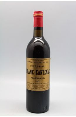 Brane Cantenac 1981