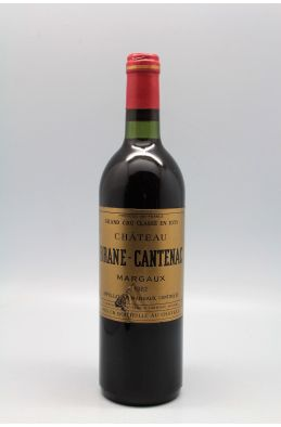 Brane Cantenac 1982 - PROMO -5% !