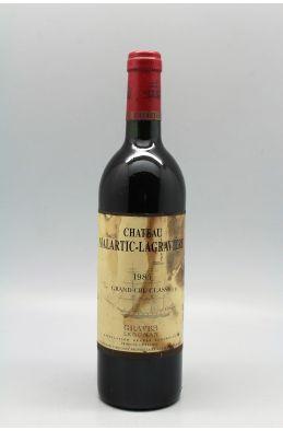 Malartic Lagravière 1985 -10% DISCOUNT !