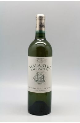 Malartic Lagravière 2008 blanc