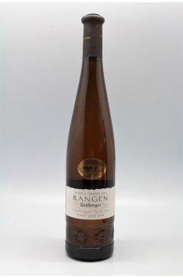 Wolfberger Alsace Grand cru Pinot Gris Rangen Vendanges Tardives 2004